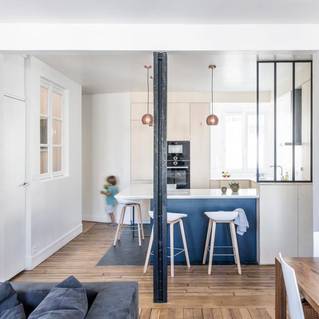 Apartment G, Paris, by Anne-Laure Dubois