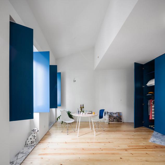 House in Rua Faria Guimarães, Porto, by Fala Atelier