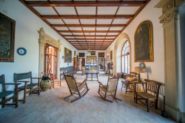 Zona de estar mansión Bunyoli