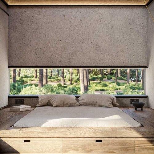 Una cama extragrande