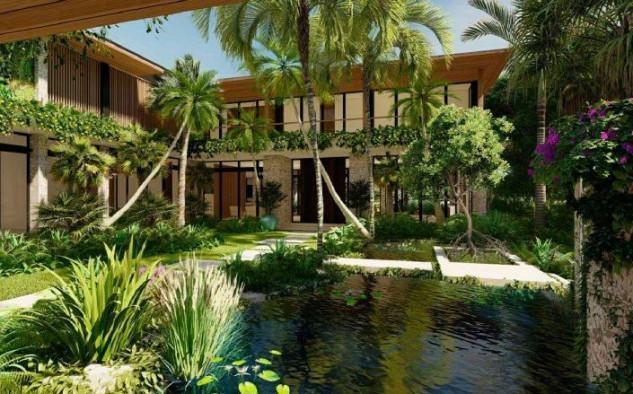 Diseño de la nueva mansión en el 2050 North Bay Road / CMA Design Studio