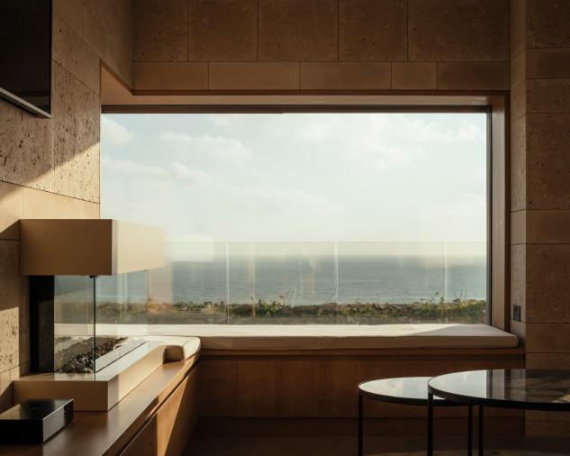 Un gran ventanal para disfrutar de las vistas