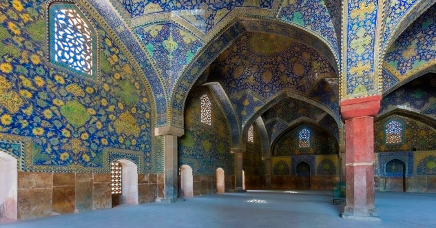 Mezquita Shah, Irán