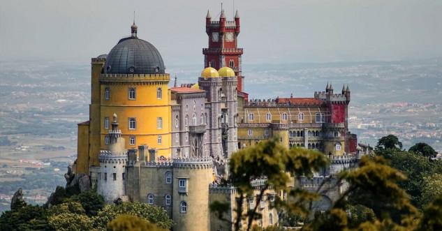 Palacio Nacional da Pena, Portugal