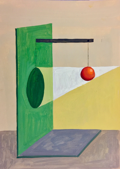 Pintura de Gloria Martín Montaño por 400 euros (29x21 cm)