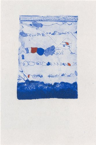 Grabado de Josep Guinovart por 450 euros (54x36 cm)