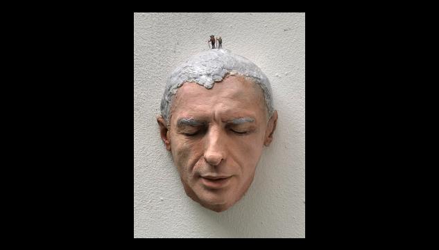Escultura de Federico Granell por 1.157 euros (32x21x16 cm)