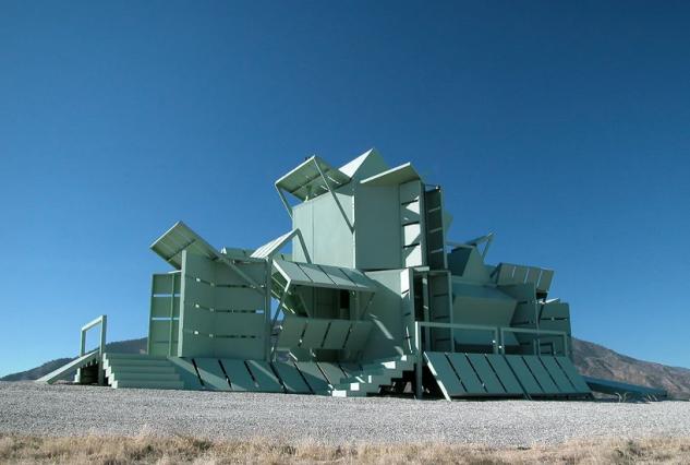 Un proyecto del arquitecto y artista Michael Jantzen