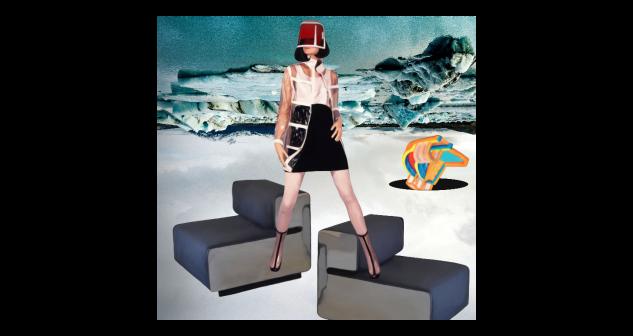 Collage de Paula Vincenti por 2.000 euros (127x135 cm)