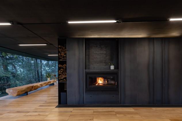 Interior de una de las viviendas / RAMA Studio