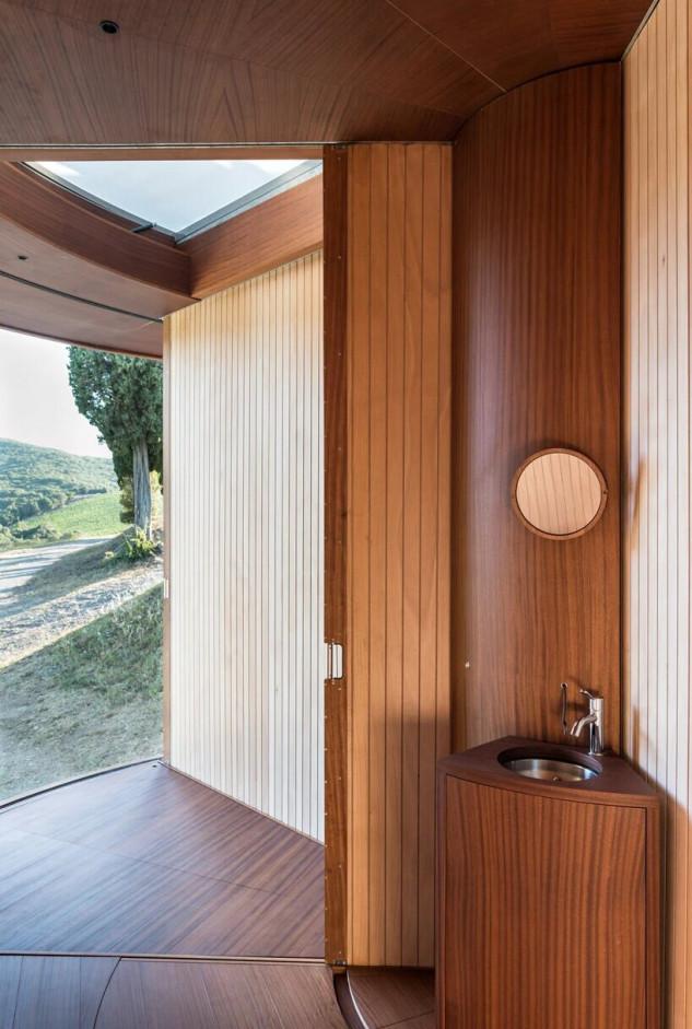 todas las cabañas incluirán dos dormitorios, un baño, una cocineta, una sala de estar y una terraza