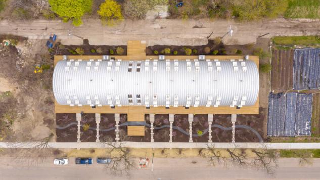 El proyecto tiene 850 m2 en total