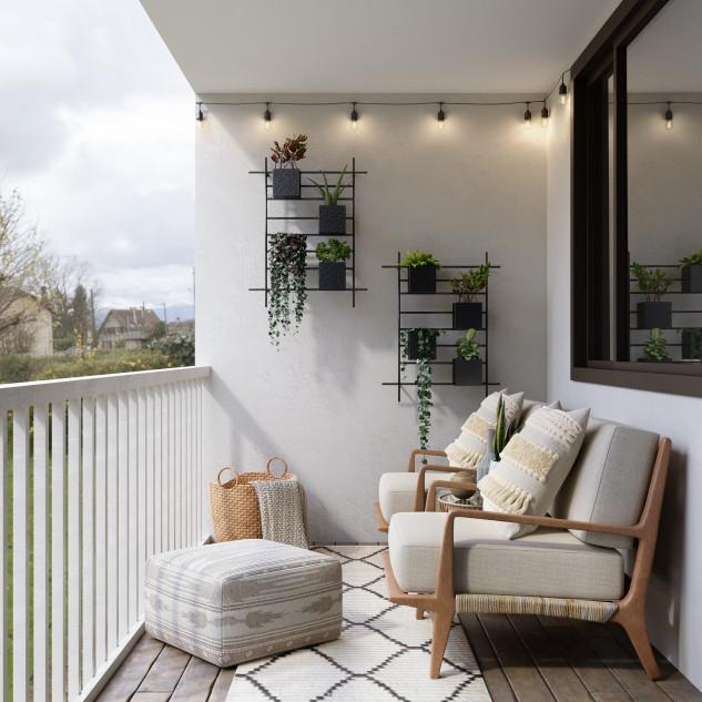 Habitaciones con balcón