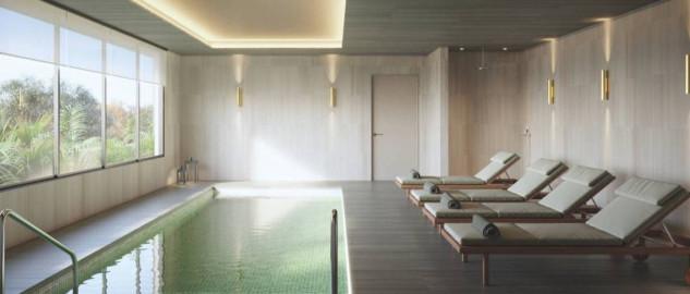 Imagen de la piscina / Las Arcadias del Encinar