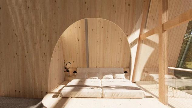 Una cama de grandes dimensiones