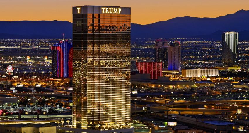 El hotel Trump en las Vegas