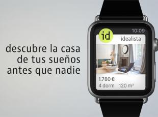 Ya puedes descargarte la app de idealista para el Apple Watch, que sale hoy a la venta en España