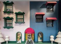 Imagen 0 - Una casa de muñecas a tamaño real para los más pequeños (y los no tan pequeños)