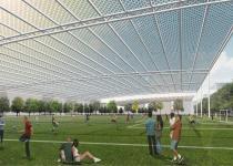 Imagen 1 - Pabellones solares y molinos flotantes: bienvenido a la asombrosa ciudad verde del futuro