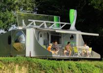 Imagen 0 - Una casa del siglo XXI: la primera caravana que rota 360º para conseguir energía solar