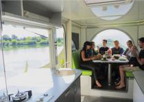 Imagen 1 - Una casa del siglo XXI: la primera caravana que rota 360º para conseguir energía solar