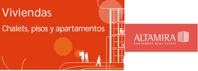 Santander compra pisos a un ritmo superior al que los vende