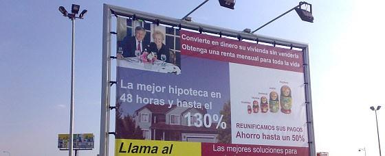 anuncio reciente encontrado en un centro comercial al sur de madrid