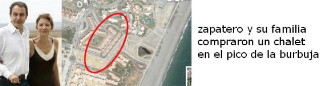 imagen de la urbanización donde está el chalet de la familia zapatero-espinosa en vera (almería)