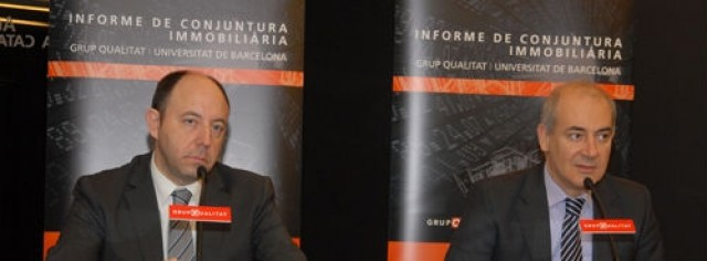 director general grupqualitat, gonzalo bernardos, profesor ub, y Eduard Brull