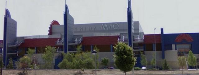 centro comercial m-40, que cerrará definitivamente antes de fin de mes