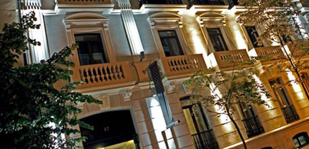 exterior del hotel boutique selenza madrid