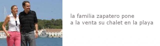 zapatero y su familia compraron la casa en 2007, en plena burbuja