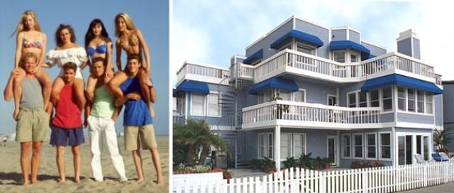 los protagonistas de la serie '90210 sensación de vivir'