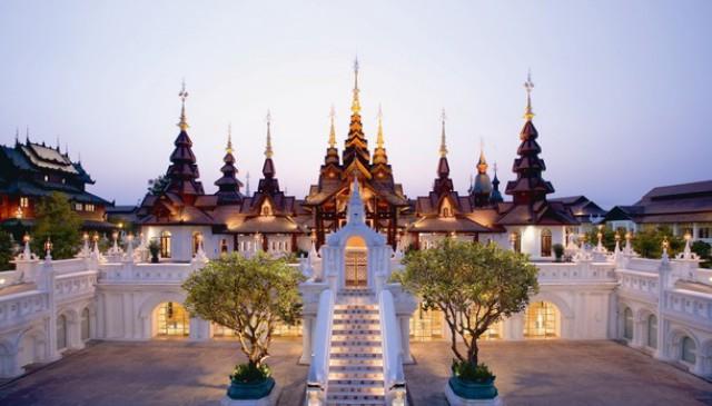 vista general del hotel mandarin oriental dhara dhevi