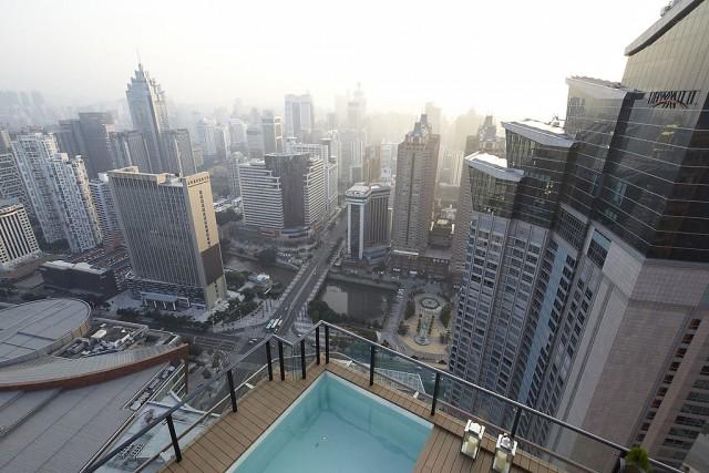 ático dúplex con piscina en la terraza - china