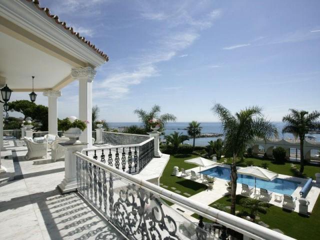 glamurosa mansión con vistas al mediterráneo - marbella