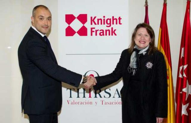 Knight Frank y Thirsa han firmado la primera solución integral de valoración