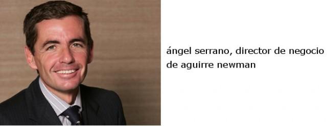 ángel serrano, director de negocio de aguirre newman