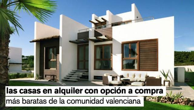 casas en alquiler con opción a compa en la comunidad valenciana
