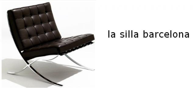 la silla barcelona
