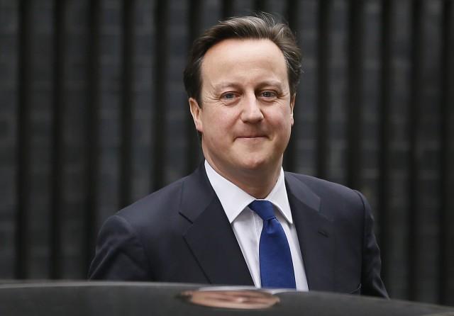 el primer ministro británico, david cameron