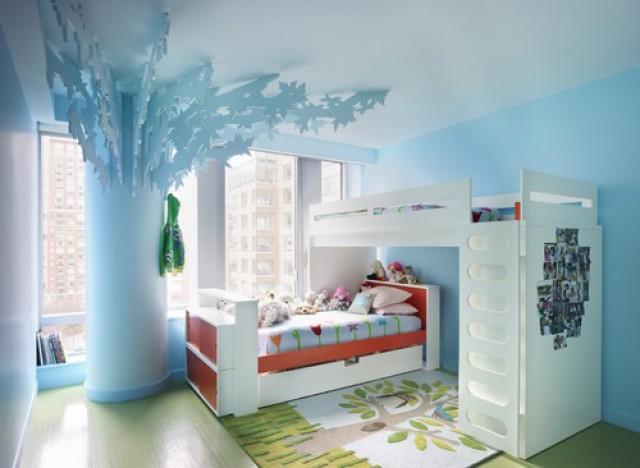 12 habitaciones infantiles decoradas con originales literas fotos