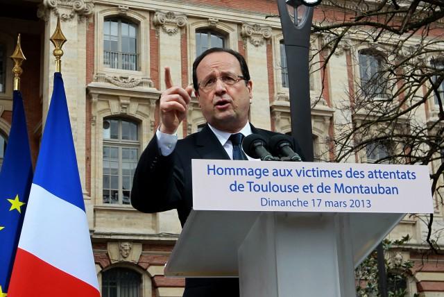 francois hollande, presidente de francia