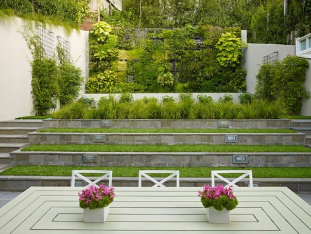 ideas de decoracin jardines verticales caseros fotos - Jardines Verticales Caseros