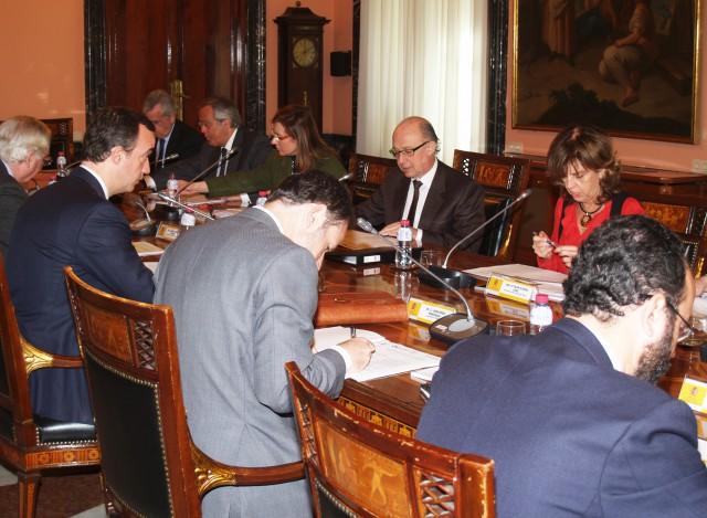 Pleno de la Comisión de Coordinación Financiera de Actuaciones Inmobiliarias y Patrimoniales