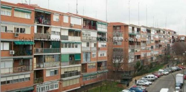 pisos en un barrio de madrid