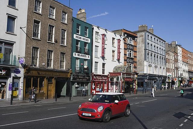 viviendas en dame street, dublín (irlanda)