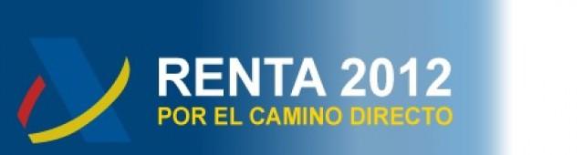 perfil para pedir el borrador renta 2012