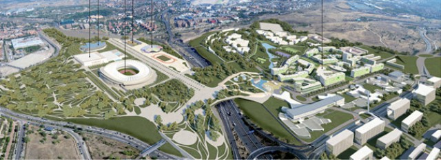la futura villa olímpica si madrid fuera elegida