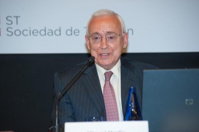 miguel martín, presidente de la asociación española de la banca